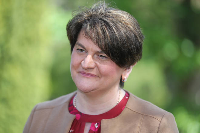 Arlene Foster announced she was stepping down as DUP leader last month