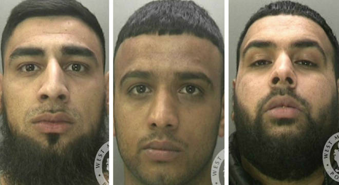 Hussain, Islam and Yousaf have all been jailed