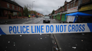 Police said two people had been arrested following the attack