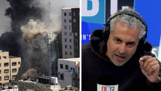 Maajid Nawaz empassioned plea for 'regional solution' to Israel-Palestine tensions