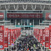 Football fans have flocked to Wembley for the FA Cup Final