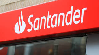 """Santander has apologised for a """"technical problem"""" which saw people report they could not access the app or online banking (Mike Egerton/PA)"""