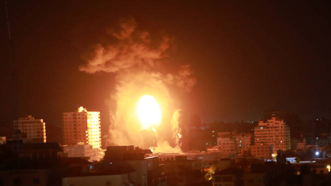 Both Hamas and Israel have been firing rockets at each other during the conflict