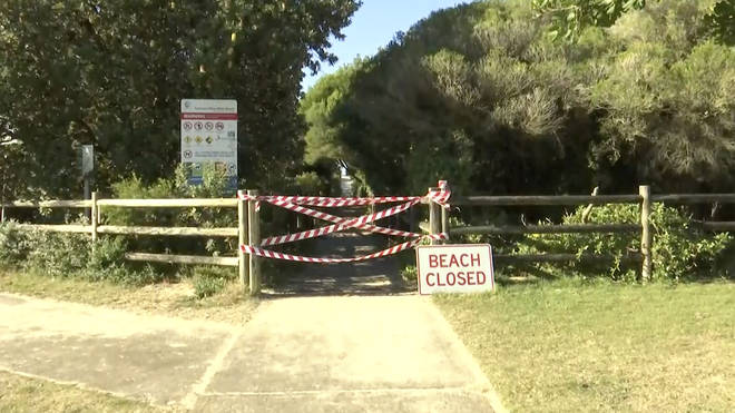 Forster's beaches have been temporarily closed