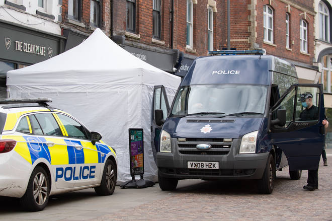 Police have found 'six voids' under the cafe linked to missing girl Mary Bastholm