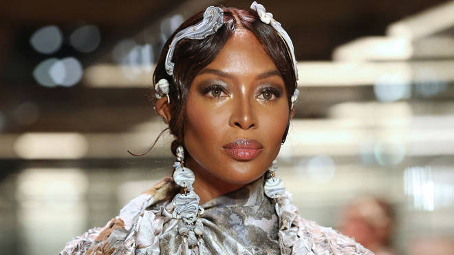 Naomi Campbell announced she has become a mother in an Instagram post