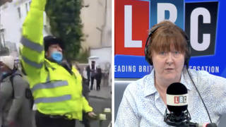 'Too many don't know how to police': Ex-officer condemns colleague who shouted 'Free Palestine'