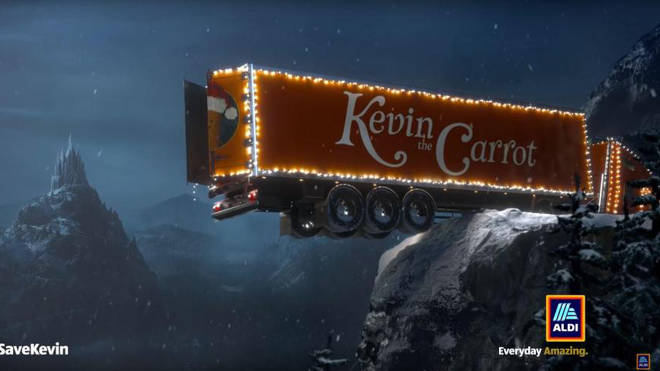The controversial Save Kevin advert
