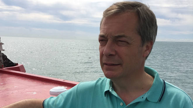 Nigel at sea