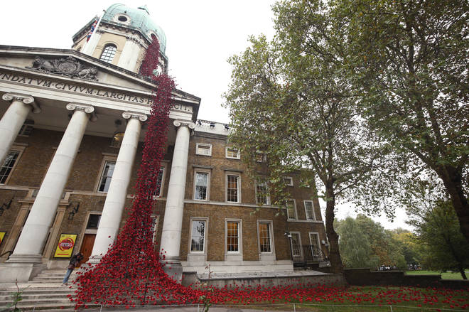 Weeping Window By Tom Piper and Paul Cummings At The Imperial War Museum, London