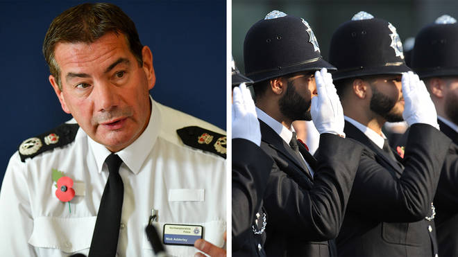 """Nick Adderley (left) has complained that many graduates entering the police have """"no life experience"""". File image."""