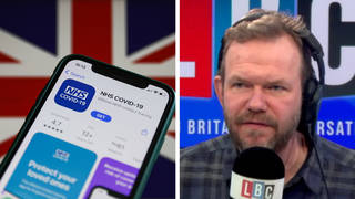 James O'Brien examined the issue of the NHS Covid vaccine passport