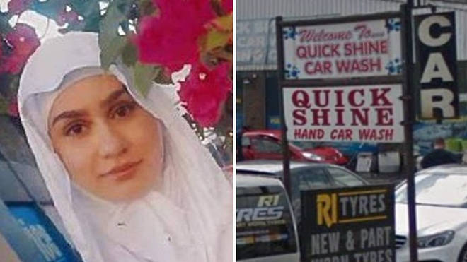 """Law student Aya Hachem was """"in the wrong place at the wrong time"""" when she was shot dead in Blackburn, a court has heard"""
