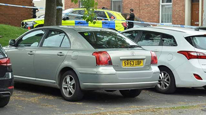 Police sealed off parts of Blackburn in the hunt for Aya Hachem's killers
