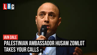 The Palestinian Ambassador Husam Zomlot takes your calls | Watch LIVE from 8PM
