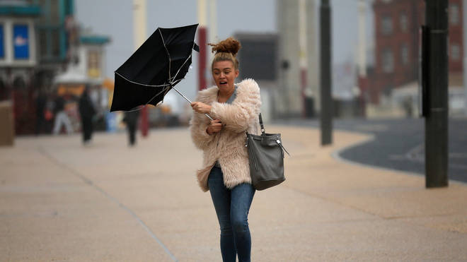 Strong winds are forecast for Friday