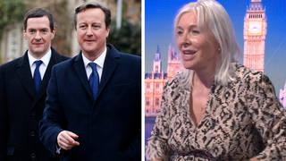 Nadine Dorries: David Cameron and George Osborne were plotting against Boris Johnson in 2001