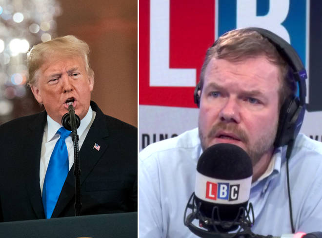 James O'Brien had strong words for Donald Trump