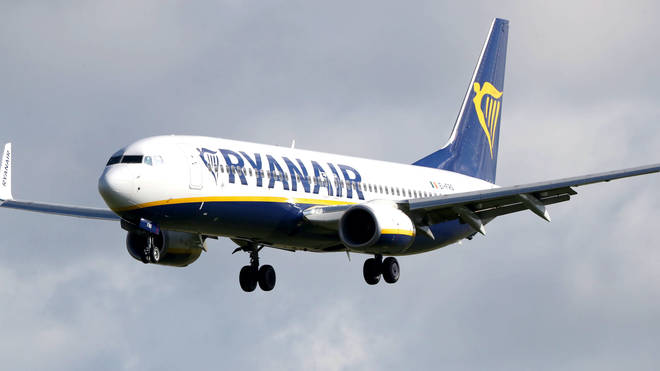 The Ryanair flight was diverted to Belarus