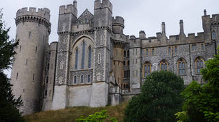 £1m of historic items were taken in a raid at Arundel Castle