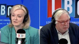 Liz Truss spoke to Nick Ferrari on Call the Cabinet on LBC this morning