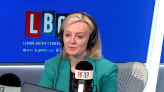 Liz Truss was speaking on LBC's Call the Cabinet