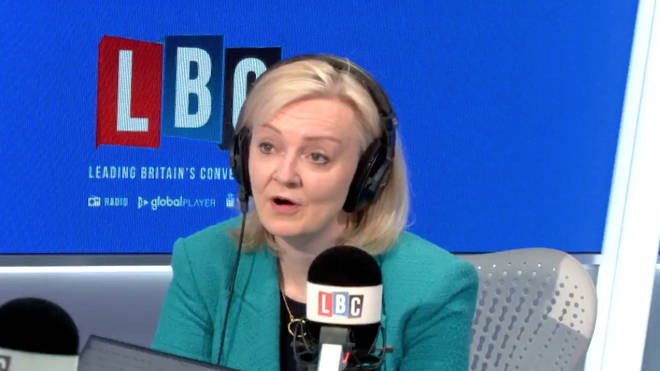 Liz Truss was grilled by an Northern Irish LBC caller who accused the Government of lying about Brexit border checks