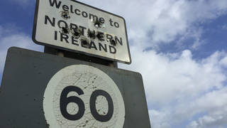 The caller challenged the Minister over the Northern Ireland border