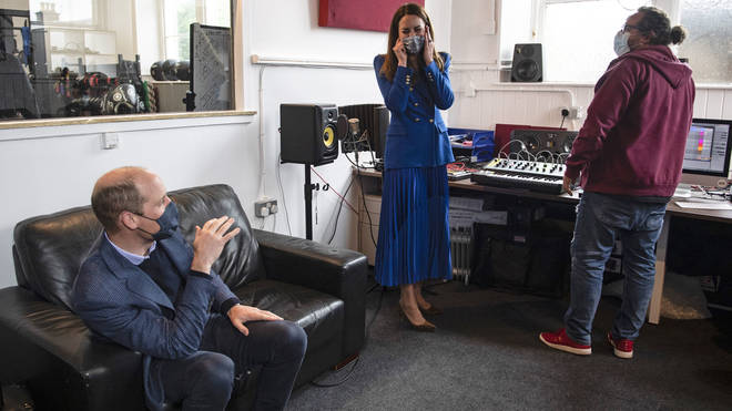 Kate was invited to make some EDM music at a violence reduction unit