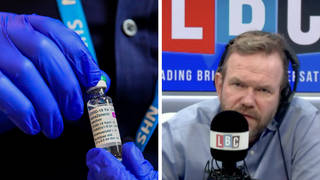 James O'Brien reacts to conspiracists who claim Covid jab 'makes you magnetic'