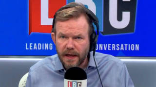James O'Brien reacts as Covid rules changed in his area without announcement