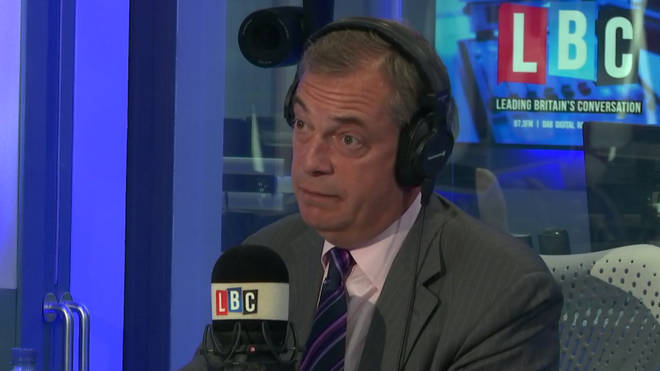 Nigel Farage on LBC