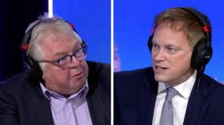 'Did Boris call Covid Kung-Flu?': Nick Ferrari puts Cummings' claims to Grant Shapps