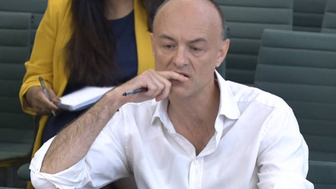 Dominic Cummings gave evidence to MPs today