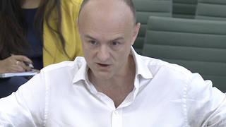 Cummings: UK was not prepared for Covid as 'key people were skiing'