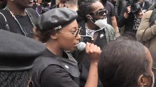 Black Lives Matter activist Sasha Johnson was shot in South London