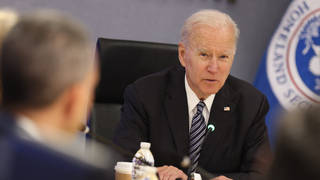 Joe Biden was ordered intelligence agencies to report back in 90 days on their investigation into Covid's origins
