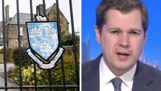 Robert Jenrick 'pleased' Batley Grammar school teacher is returning to work