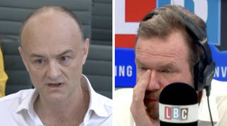 James O'Brien moved to tears by grieving father's response to Cummings' claims