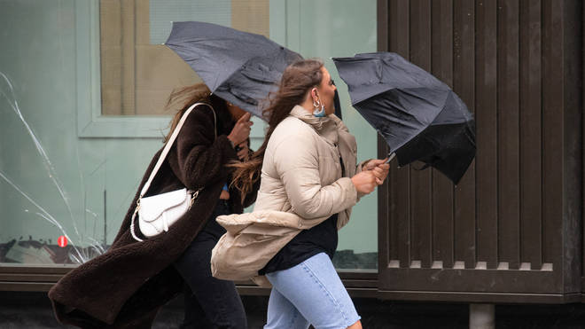 Wind and rain dominated the UK throughout May, making it the tenth wettest on record