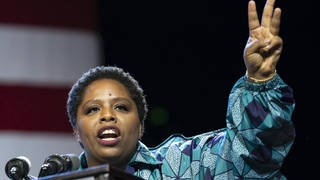 Patrisse Cullors has stepped down from the Black Lives Matter network group.