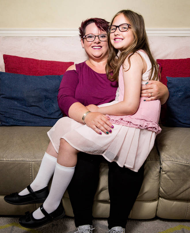 Susan Spink and her daughter Charlotte