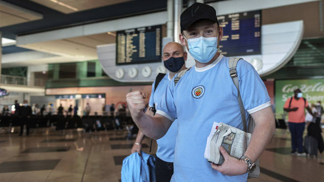 Manchester City supporters are heading to Portugal over the bank holiday weekend