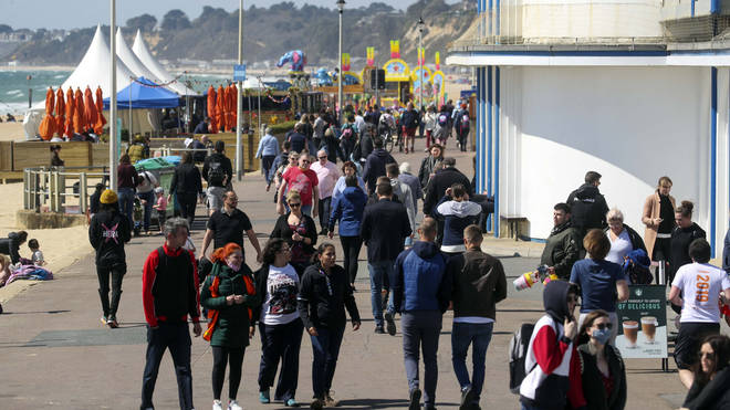 Thousands of Brits are heading to South West coastal towns to get away for the bank holiday
