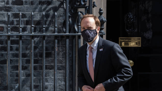 """The Health Secretary committed a """"minor"""" but undeliberate breach of the ministerial code by failing to declare that a family firm he held shares in won an NHS contract"""