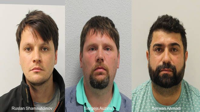 Mugshots issued by the Met