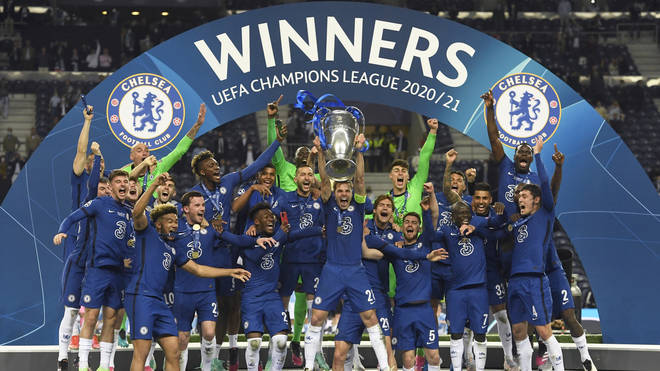 Chelsea were crowned Champions League winners after beating Manchester City 1-0 in the final