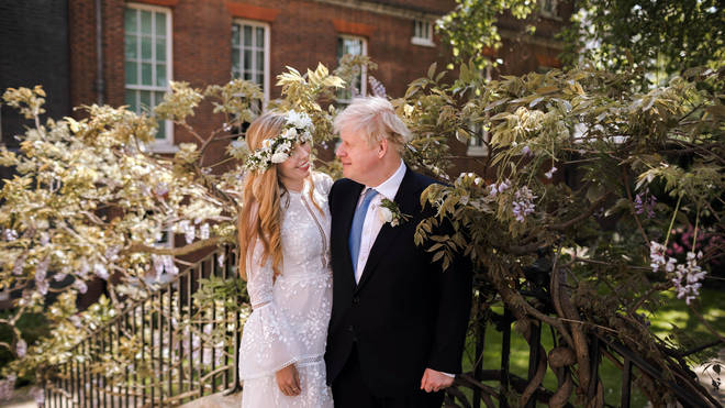 Boris Johnson and Carrie Symonds have officially tied the knot