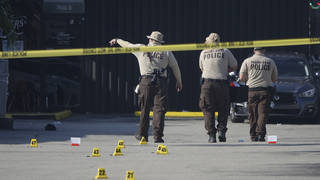 Three gunmen opened fire at a concert crowd in Miami