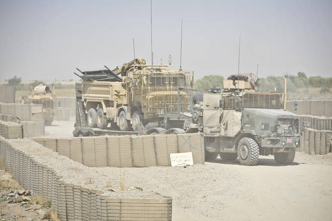 UK troops left Afghanistan in 2014